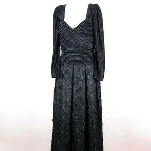 Vintage Lillie Ruben couture gown